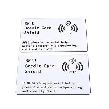 RFID Wireless Illegal Credit//Debit Card Reader Blocker Shieid Prevent electronic