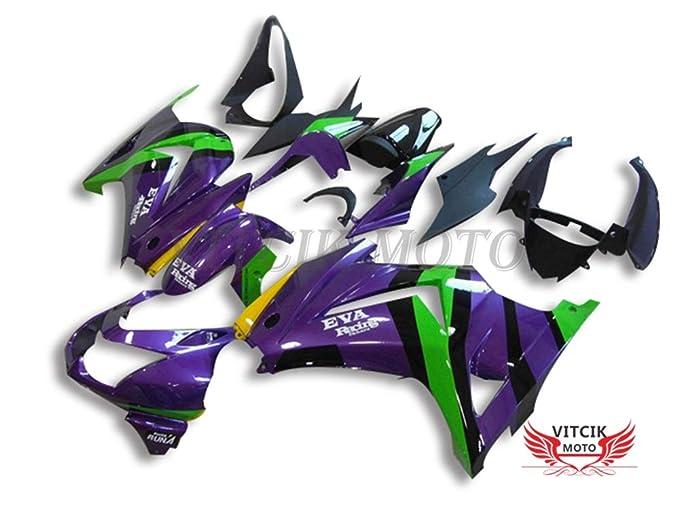 VITCIK (Kit de Carenado para EX250R Ninja 250 EX-250R ZX250 ...