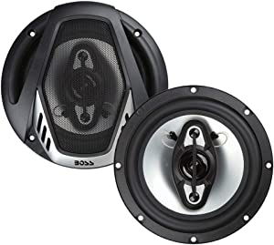 BOSS Audio Systems NX654 Car Speakers - 400 Watts Per Pair, 200 Watts Each, 6.5 Inch, Full Range, 4 Way, Sold in Pairs