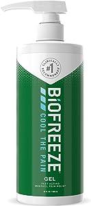Biofreeze Pain Relief Gel, 32 oz. Pump, Green (Packaging May Vary)