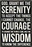 Primitives by Kathy Classic Box Sign, Serenity Prayer