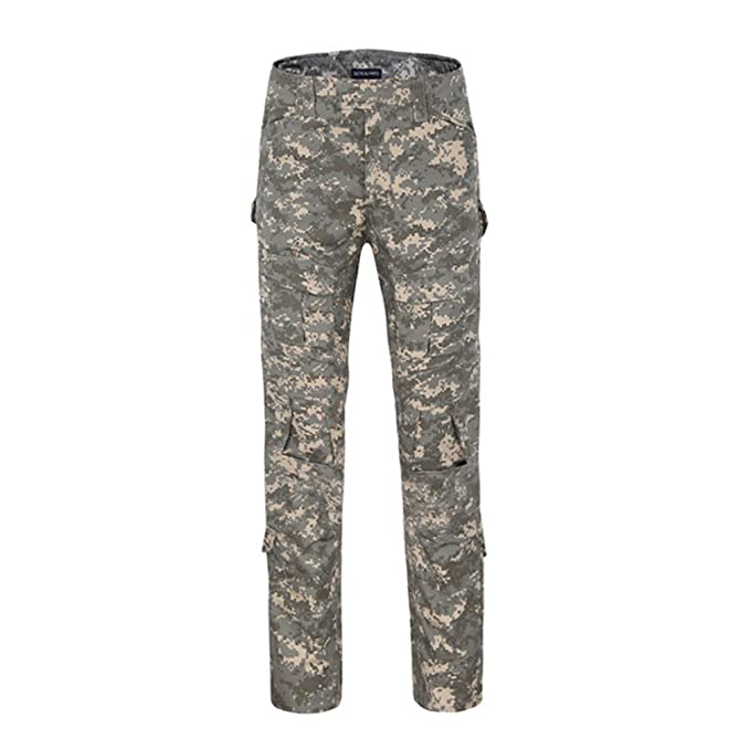 Amazon.com: msmirror Multicam pantalones con rodilleras, de ...