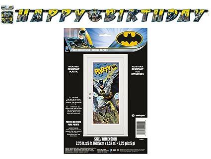 BT Batman 27 x 60 Party Door Poster Jointed Banner