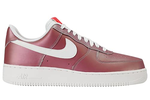 Nike Air Force 1  07 LV8 Track Red Summit White-Black (10. 5 D(M) US ... 3975d6257