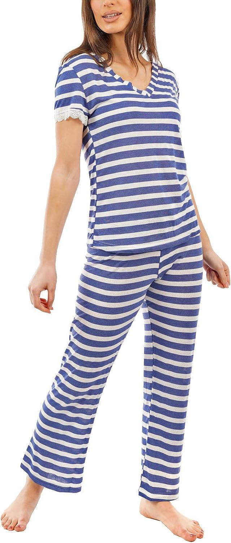 i-smalls Ladies Selection of Jersey Cotton Spring Summer Pyjamas