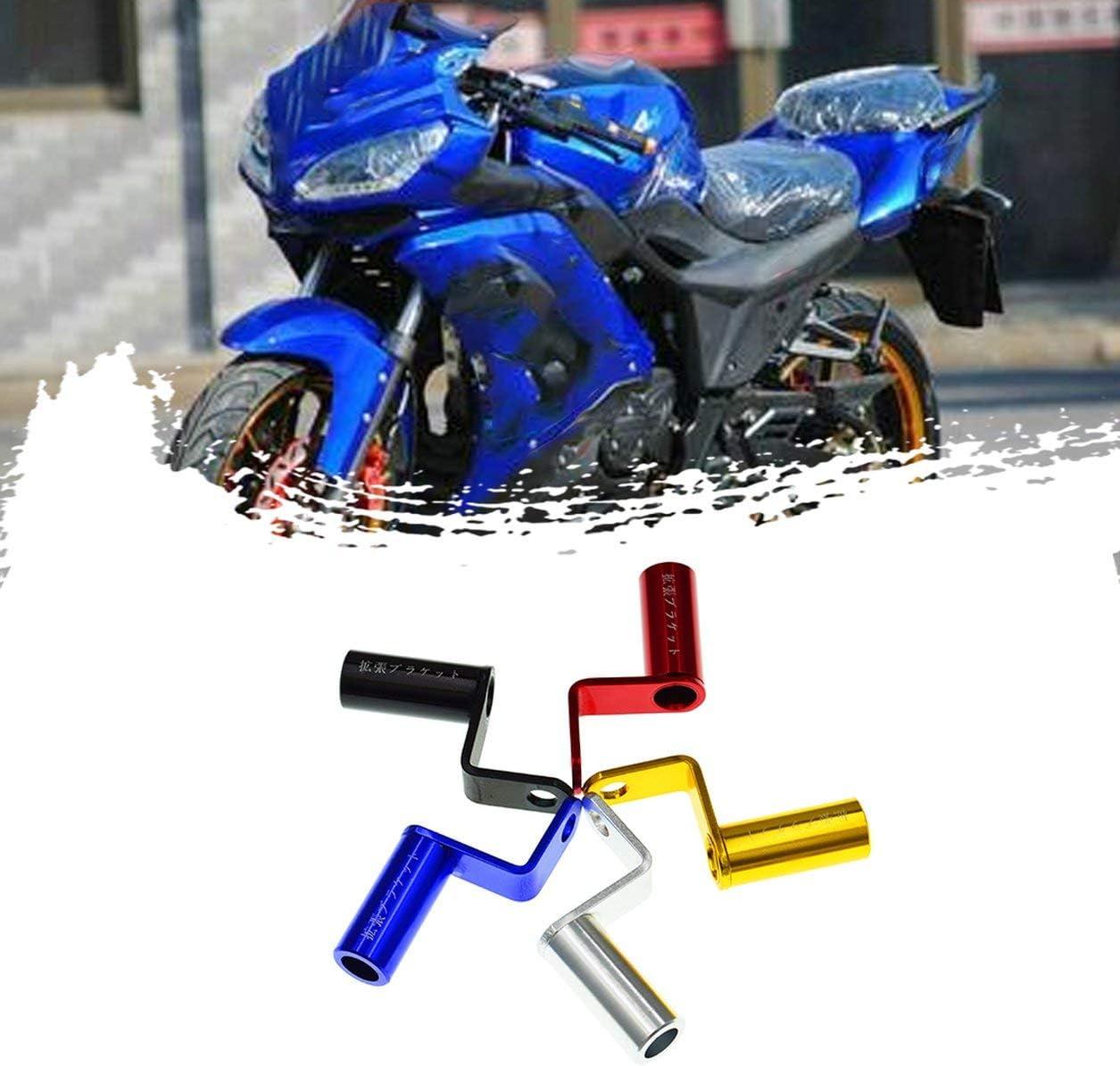 Dailyinshop/® Robuster Motorrad-Erweiterungsst/änder R/ückansicht Lenker Spiegelhalterung Adapter Motorrad Licht Erweiterungshalterung Telefonst/änder