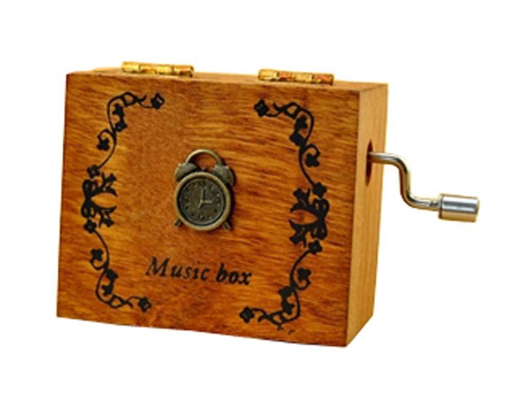 セットアップ B01K4JLUCI木製音楽ボックス誕生日ギフトクリエイティブhand-cranked音楽ボックスミニレトロ B01K4JLUCI, コンプリート:59ac0b62 --- arcego.dominiotemporario.com
