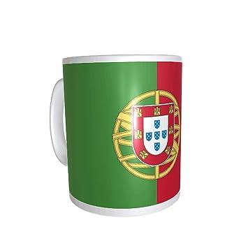 Yonacrea Blanc Mug Prénom Tasse Portugal Drapeau Personnalisé Ligne Personnalisation Avec En wX0n8POk