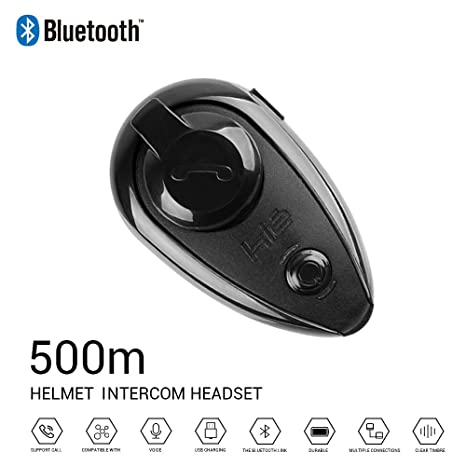 HL Casco para Motocicleta Auricular Bluetooth Intercomunicador ...
