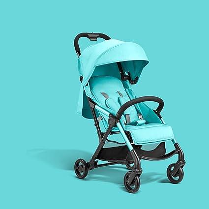 QQB &Carro Plegable El Paisaje del Carro de bebé Alto se Puede sentar, niño Ligero