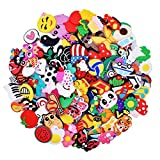 XHAOYEAHX 50,51,64,100pcs Shoes Charms fits for