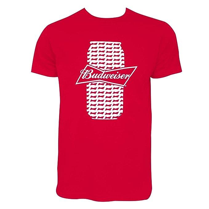 3f8fc6f9c Amazon.com: Budweiser Beer Can Tee Shirt: Clothing