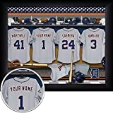 Detroit Tigers Personalized Framed Print