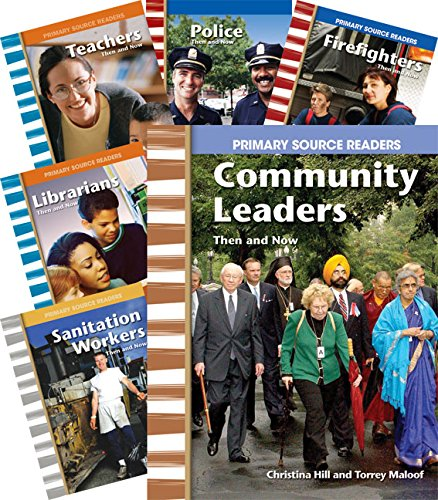 Community Past and Present Set 2  8-Book Set (Social Studies Readers)