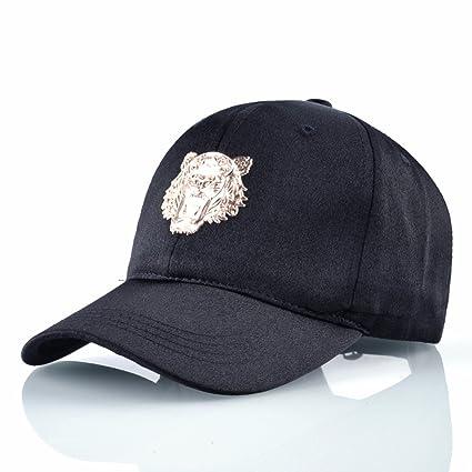 mznwpm Imitación De Seda Sombreros De Sol Gorra De Béisbol Para Mujeres Hombres Tigre Decoración Gorras