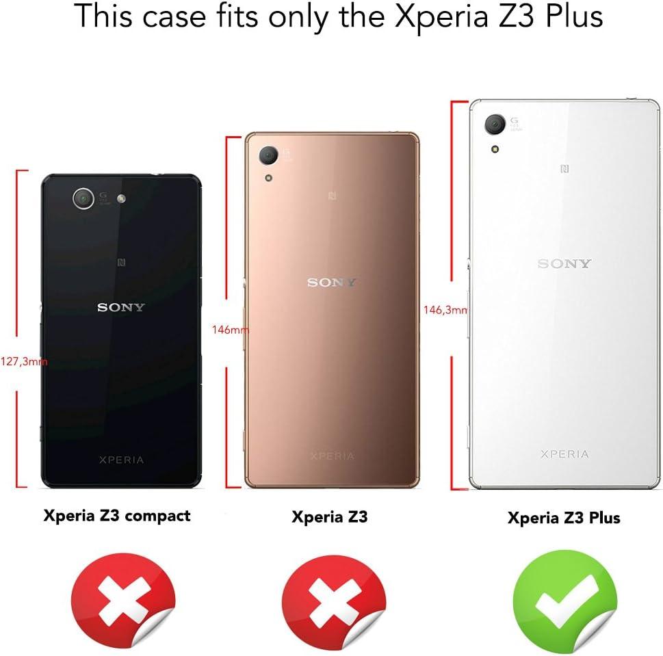 NALIA Funda Carcasa Compatible con Sony Xperia Z3 Plus, Protectora ...