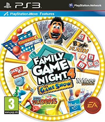 Family Game Night 4 The Show Sony PS3 Import UK