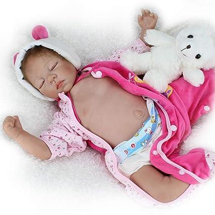 Amazon.es: ZELY 20 Pulgadas Reborn Baby Dolls muñecas Bebé ...