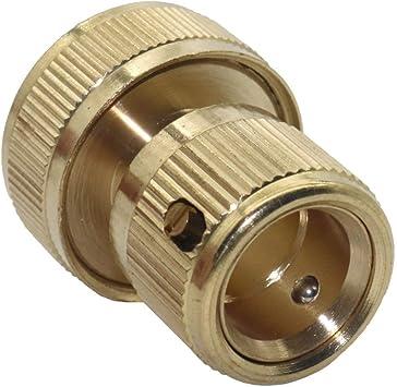 TIANFGKS Tubo de Agua Conector rápido Diámetro 19 mm conecte 3/4 Manguera Jardín Césped Agua del Grifo Manguera Tubería Conexión del Grifo Conector del Grifo del Tubo Adaptador a presión Conexión a: