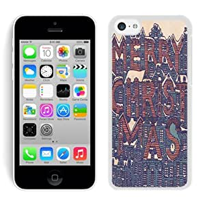 Hot Sell Iphone 5C TPU Case Merry Christmas White iPhone 5C Case 19