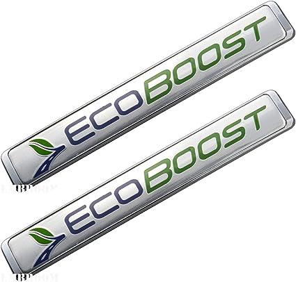 1 OEM Ecoboost Emblem Badge 3D Nameplate Sticker Door Fender For Ford