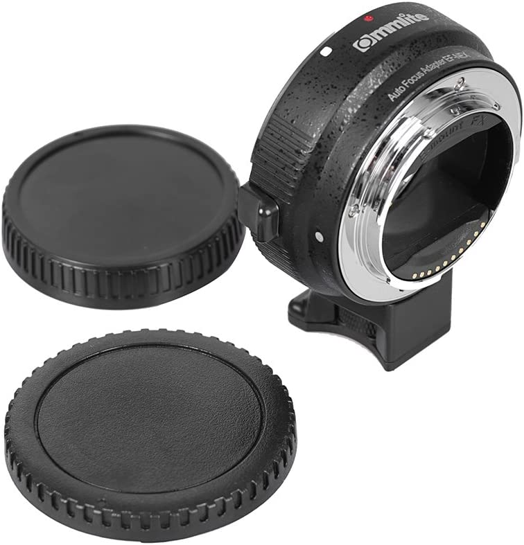 Commlite Auto Focus EF-NEX EF-EMOUNT FX Lens Mount Adapter for Canon EF EF-S Lens to Sony E Mount NEX 3//3N//5N//5R//7//A7 A7R Full Frame