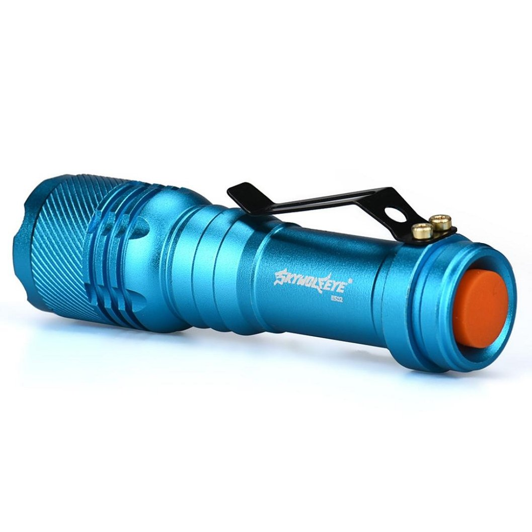 Tactical Zoomable 15000LM T6 LED Flashlights AA //14500 Torch Lamp Light 5 Colors