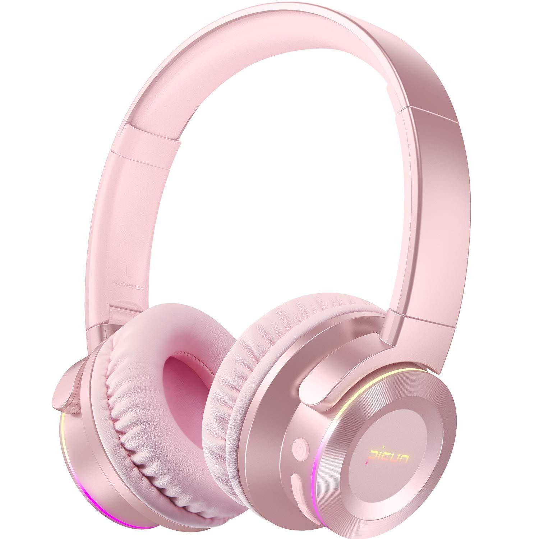 Auriculares Picun B9 Inalambrico Bluetooth Con Mic 40h Duracion Inalambrico Over-ear Deep Bass Plegable Headset Para Tv