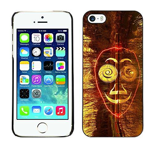 Premio Sottile Slim Cassa Custodia Case Cover Shell // F00024011 masque Surreal // Apple iPhone 5 5S 5G