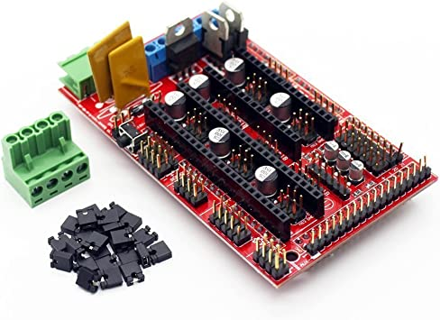 Amazon.com: ARCELI 3D Printer Controller RAMPS 1.4 Mega ...