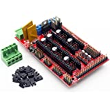 ARCELI RAMPS 1.4 Mega Shield 3D Printer Controller per Arduino Reprap Prusa Mendel