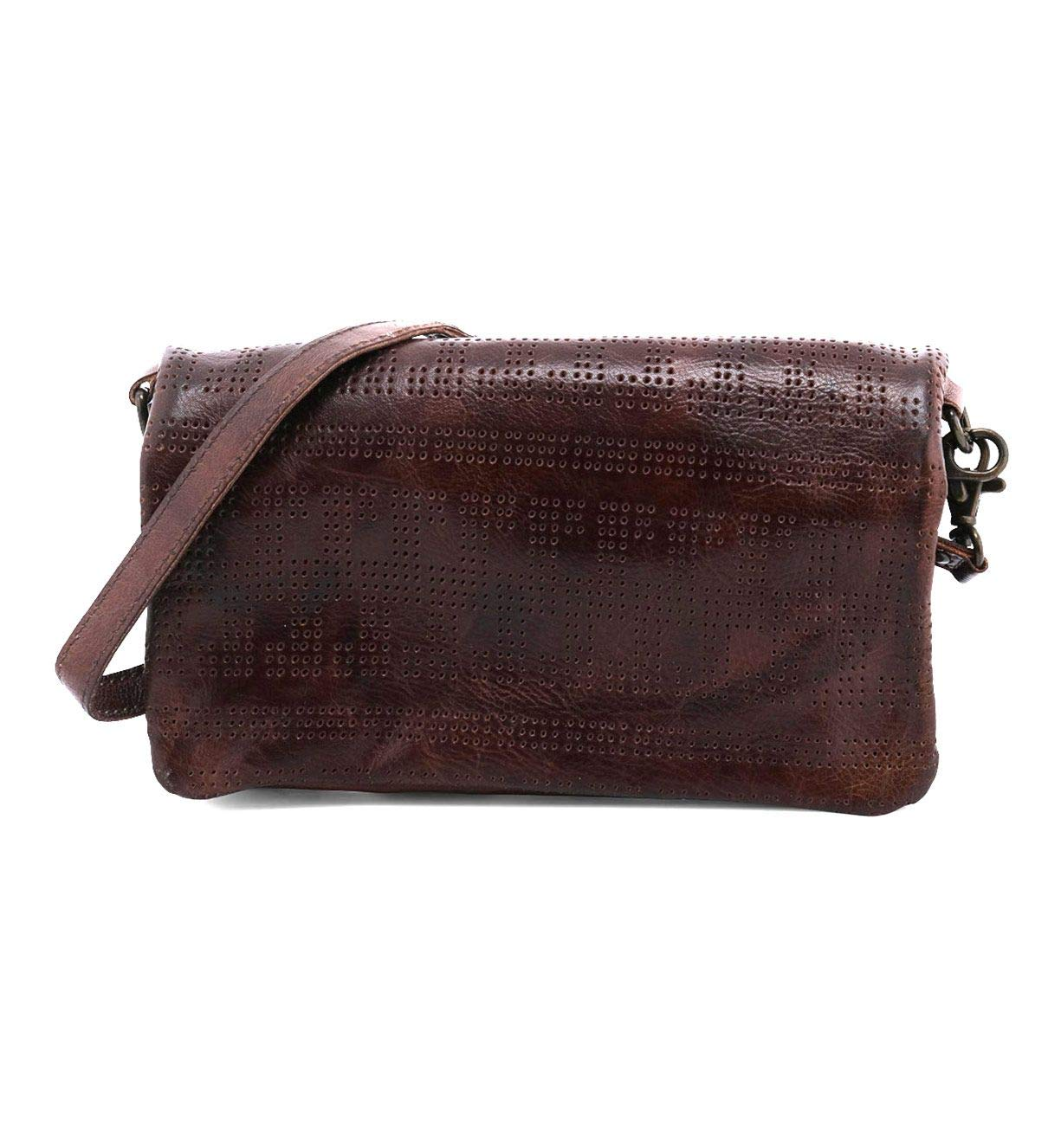 Bed|Stu Bayshore Leather Cross-body Bag (Teak Rustic)