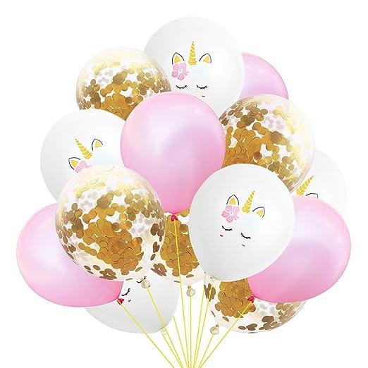 Tmacok - Globo de unicornio con lentejuelas, globos de ...