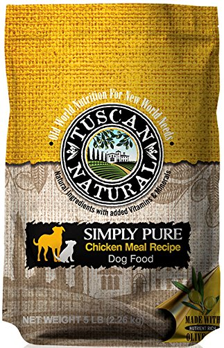 Amazon Tuscan Natural Pet Food Simply Pure Chicken Meal Dog