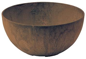 Amazing Artstone Napa Round Bowl Teak 10 Inch Interior Design Ideas Apansoteloinfo