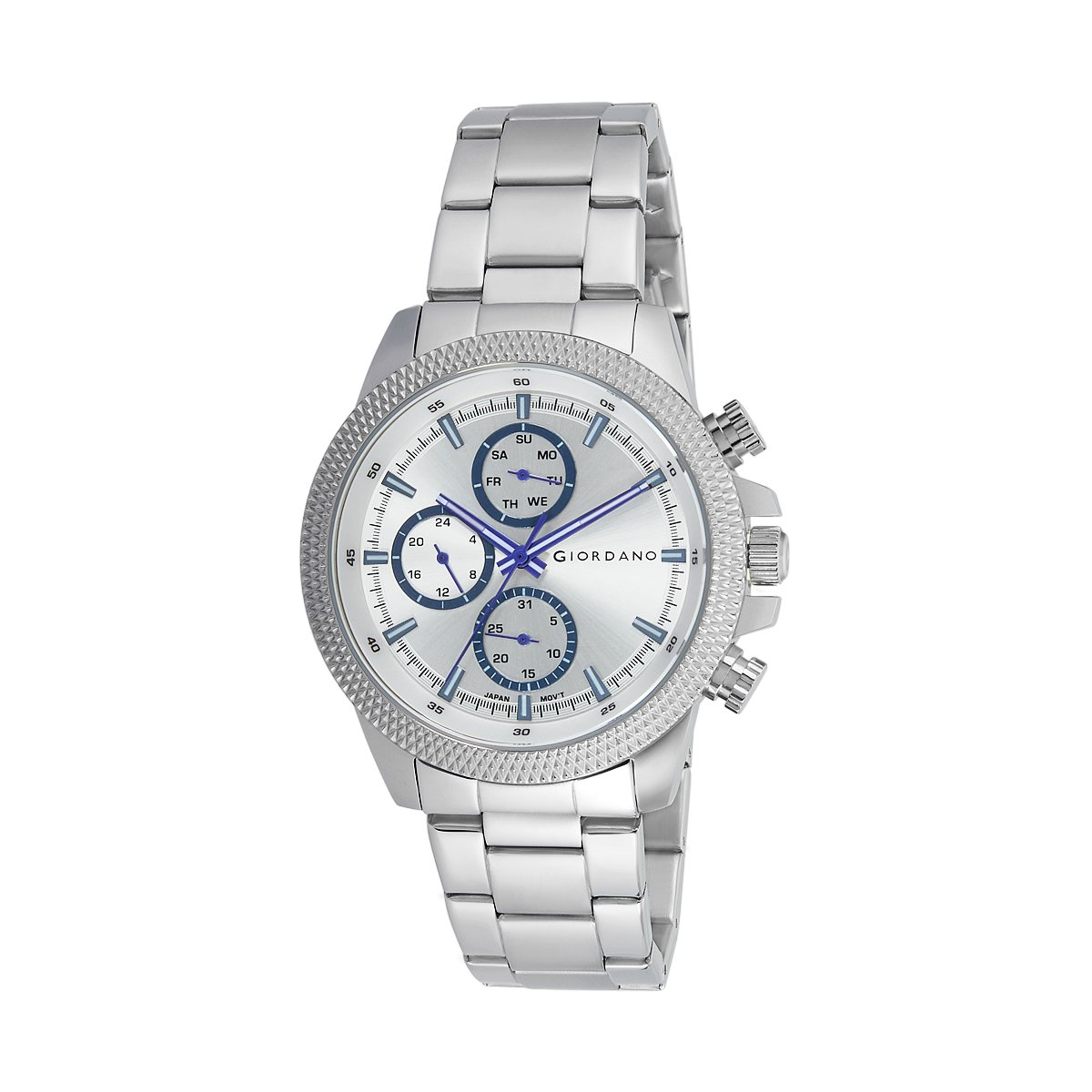 Dial 1901 Low Giordano 11 Buy At Watch Analog Silver Men's Online HD29IE