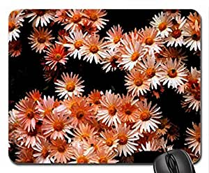 Magic Daisies Mouse Pad, Mousepad (Flowers Mouse Pad, 10.2 x 8.3 x 0.12 inches)