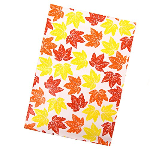 Inspired Mailers Poly Mailers 10x13 Autumn Leaves – Pack of 100 – Unpadded Shipping Bags by Inspired Mailers (Image #2)