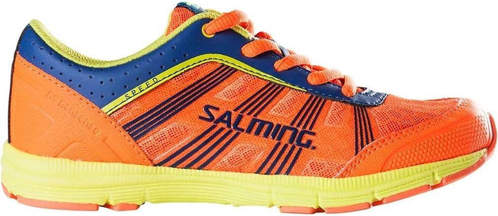 Salming Speed Junior - Zapatillas de running para niño, color naranja: Amazon.es: Deportes y aire libre