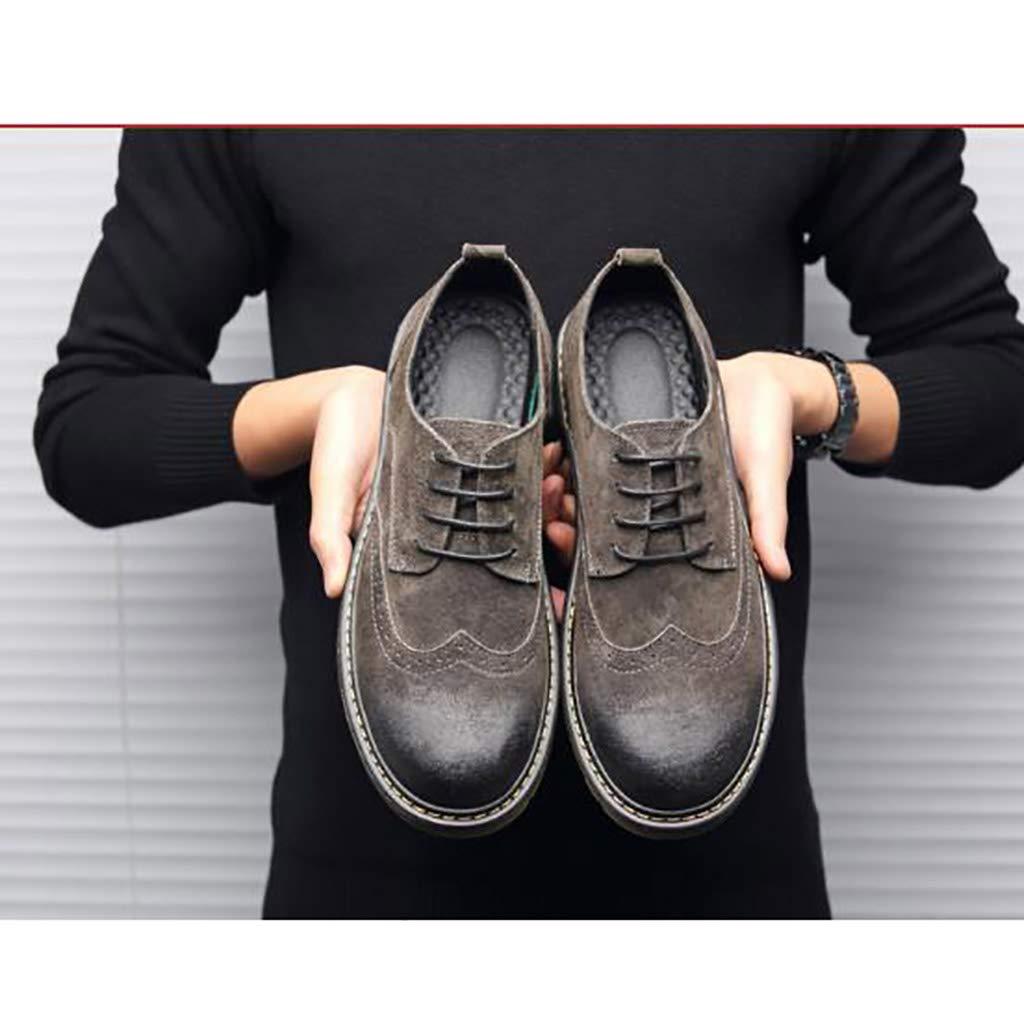 Botas de Herramientas de Cuero. Zapatos Martin Martin Martin para Hombre Bajos para Ayudar a Aumentar la Altura de los Zapatos para Hombre (Tamaño : 41) d388bc