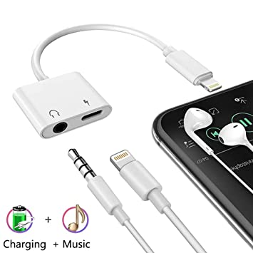 Adaptador de Auriculares 3.5mm Jack para iPhone 7 de ...