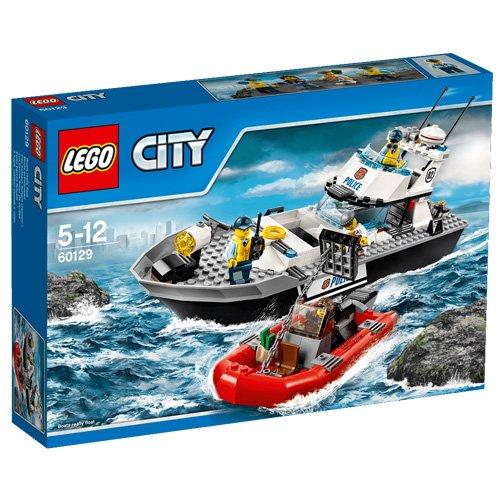 26 opinioni per LEGO City Police 60129- Motoscafo della Polizia