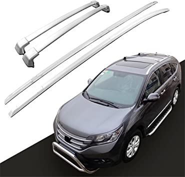 Amazon Com Kingcher 4 Pieces Silver Roof Rack Fit For Honda Crv Cr V 2012 2013 2014 2015 2016 Oem Style Baggage Luggage Carrier Holder Rail Cross Bar Crossbar Automotive