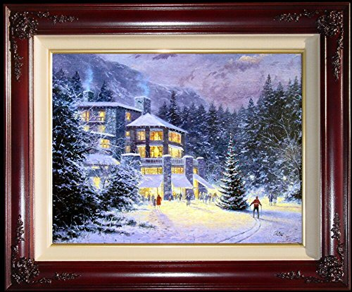 Christmas at The Ahwahnee Thomas Kinkade 16
