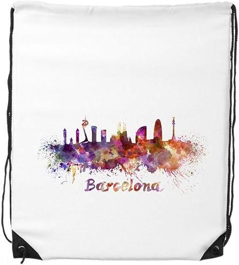 DIYthinker Barcelona, españa país Ciudad Acuarela ilustración ...