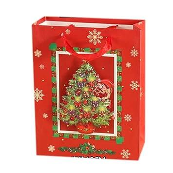 Blancho Bedding 6 Piezas [D] Bolsas de Regalo de Navidad ...