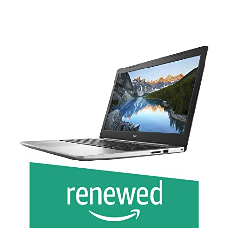 (Renewed) Dell 5575 FHD 15.6-inch Laptop (Ryzen 5 2500U/8GB/1TB/Windows 10 with Ms Office Home & Student 2016/Vega 8 Graphics), Silver Laptops