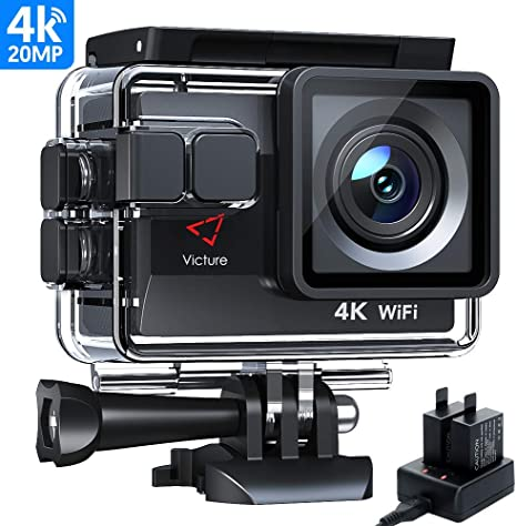 Victure AC800 Cámara Deportiva Wi-Fi 4K Ultra HD 20MP (Action ...