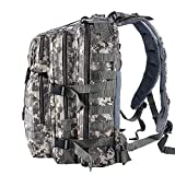 Tactical Backpack - Smartdoo Assault Pack Tactical Bag Military Backpack Molle Waterproof Rucksack for Outdoor Travel Hiking Camping Backpacks ACU Camouflage