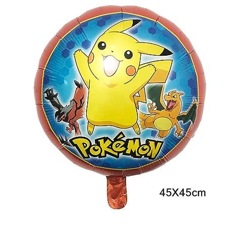 5 piezas de 18 pulgadas de dibujos animados Pikachu Pokemon ...